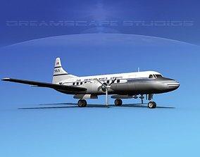 3D Convair CV-340 Pan American