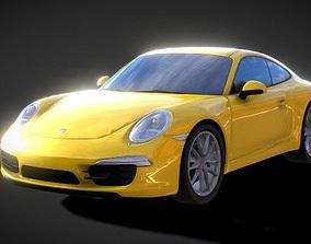 realtime Porsche 991 3D Model