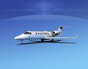3D model LearJet 45 V04
