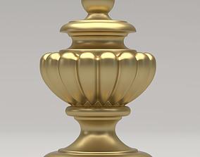 Carved Finial 3D model