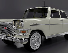 Devrim 1961 first car Turkey Republ 3D