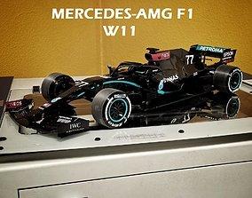 MERCEDES 2020 F1 CAR 3D PRINTABLE