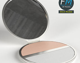 3D model Makeup pocket powder