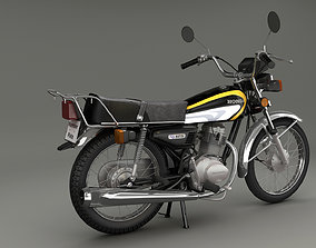 3D honda bike 125