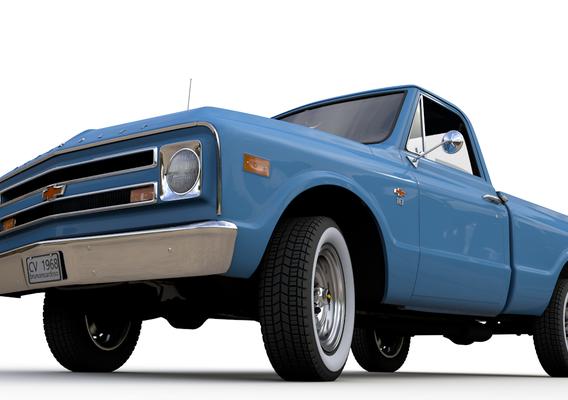 1968 CHEVY C10 PICKUP STEPSIDE TRUCK