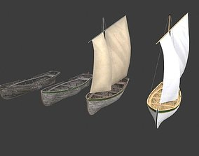 3D Wooden boats Yal-6
