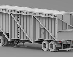 Reboque Canavieiro 3D model