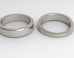 God Couple Ring Platinum 3D print model