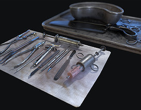 3D model Old Surgical Tools