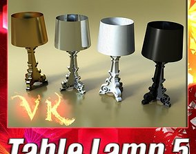 3D model Table Lamp 05 Bourgie