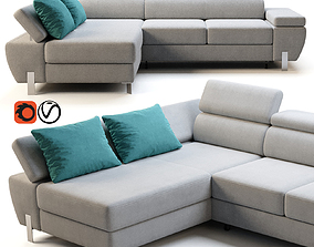 3D model Wersal Molina mini sofa