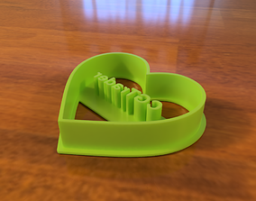 3D print model Cookie Cutter with Title CGTrader