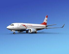 3D model Boeing 737-700ER Austrian Airways
