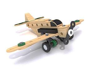 Brio Toy Plane 3D