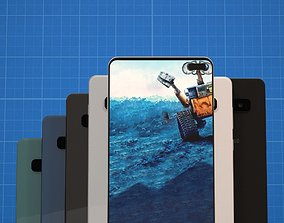 Samsung Galaxy S10 Plus In All Official Color 3D model