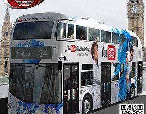 3D model Wrightbus Routemaster YouTube liver