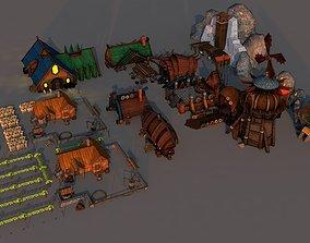 Viking City package 3D model