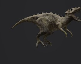 3D model Dino raptor concept