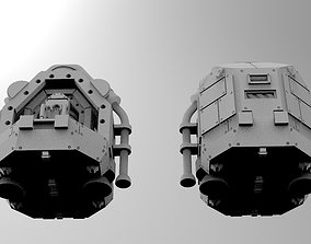 WoWBuildings SCI-FI Drop Pod tabletopgaming 3D print model