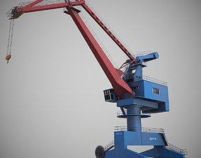 3D model Portal Jib Crane