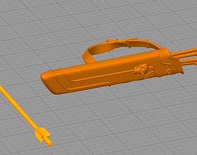 cosplay Silvanas bow 3D printable model