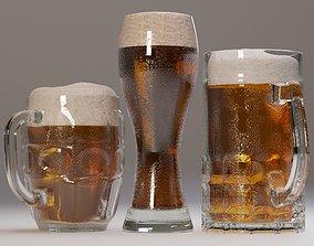 3D model Beer mugs