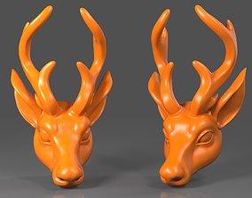 3D printable model Deer Head02