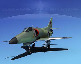 Douglas A-4D Skyhawk RNZN 3D model