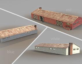 Old Garage 01 3D model