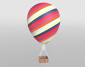 Hot Air Balloon v1 001 3D model