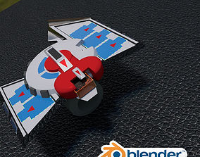 3D model Duel Disk Battle City Version