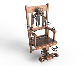 3D PBR Electric Chair