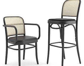 3D restaurant-chair N 811 Hocker by THONET VIENNA