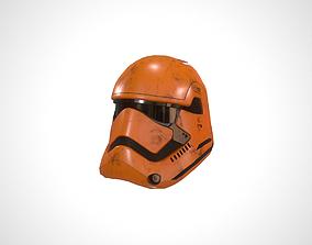 Star Wars Stormtrooper Helmet - Yellow 3D model