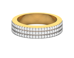 Men groom solitaire ring 3dm render detail sterling