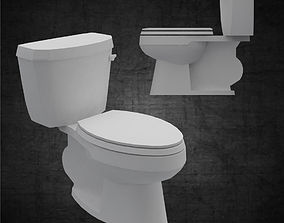3D model Toilet for bathroom minimal for architects and