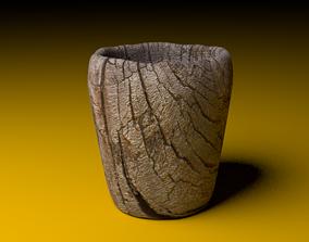 3D model Wooden Cup