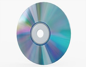 CD Disc 3D model