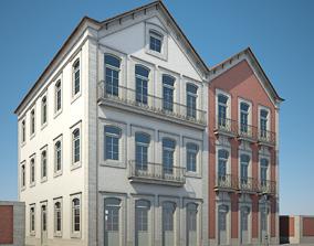 city 3D Apartment Building 16