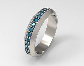 David Yurman Streamline Band Ring Eu 61 3D print model