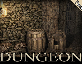 Medieval Dungeon 3D model
