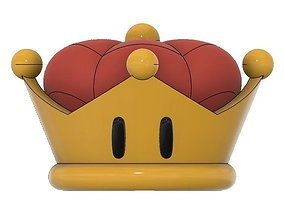 3D print model Super Crown for Bowsette