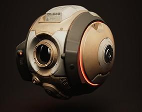 Sci-fi Service Drone 3D model