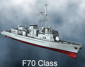 3D model F70 Class