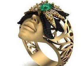 Amazing ring magerit 3D print model