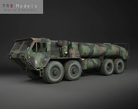 Hemtt M978 Oshkosh Military Fuel Truck 3D asset
