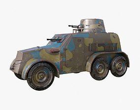 OA vz 30 Armoured Car Czechoslovak Mental Ray 3D