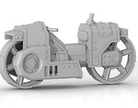 3D print model steam bike