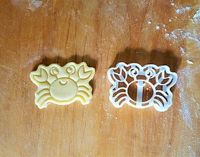 Crab Cookie Cutter 3D print model