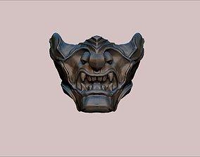 japanese demon mask Ghost of Tsushima game 3D print model